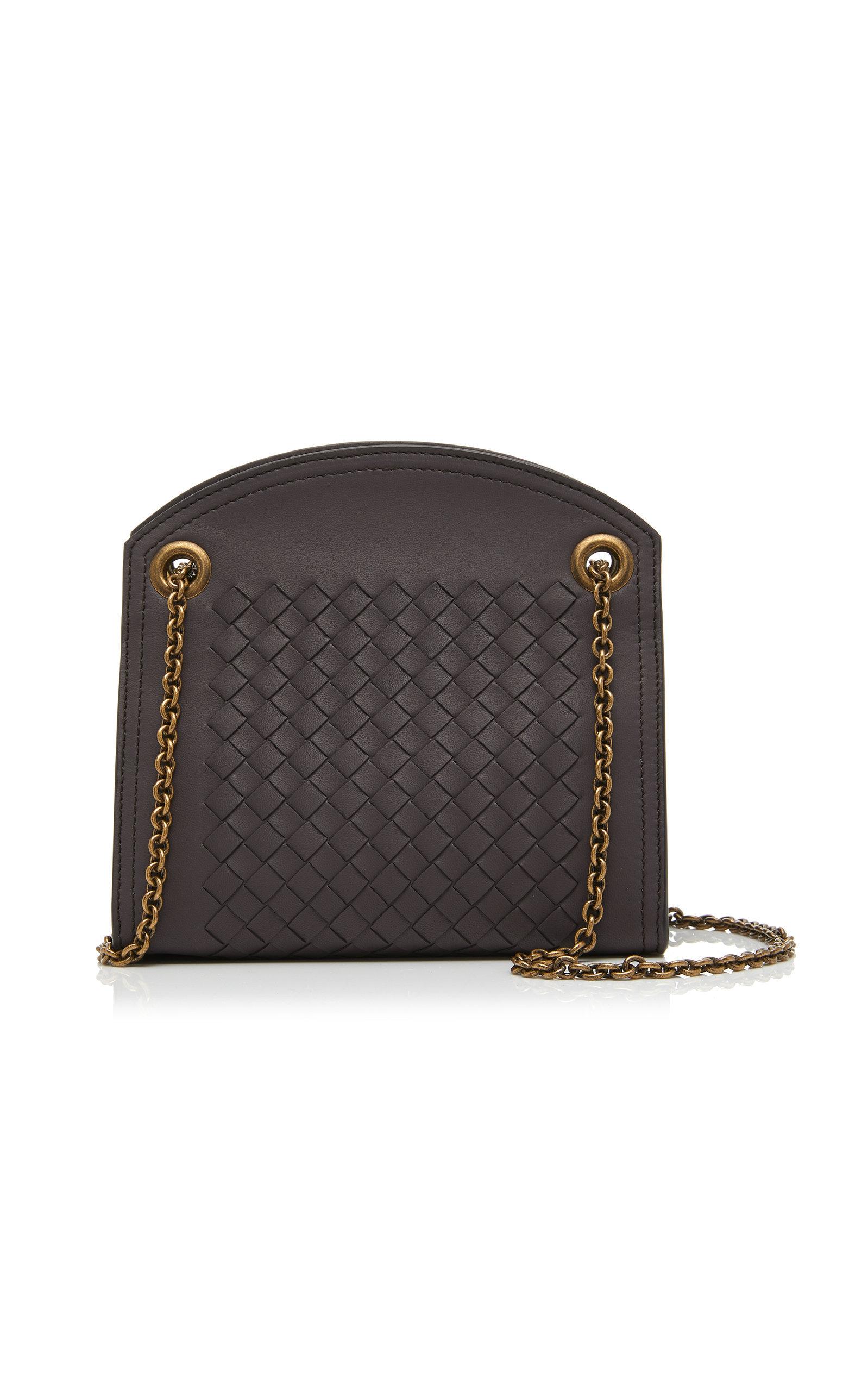 abbea8599 Bottega Veneta Woven Leather Shoulder Bag In Brown | ModeSens