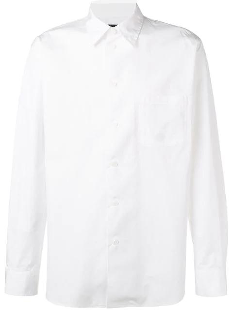 Yohji Yamamoto Classic Shirt In White