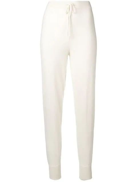 N.Peal Cashmere Jogging Pant In Neutrals