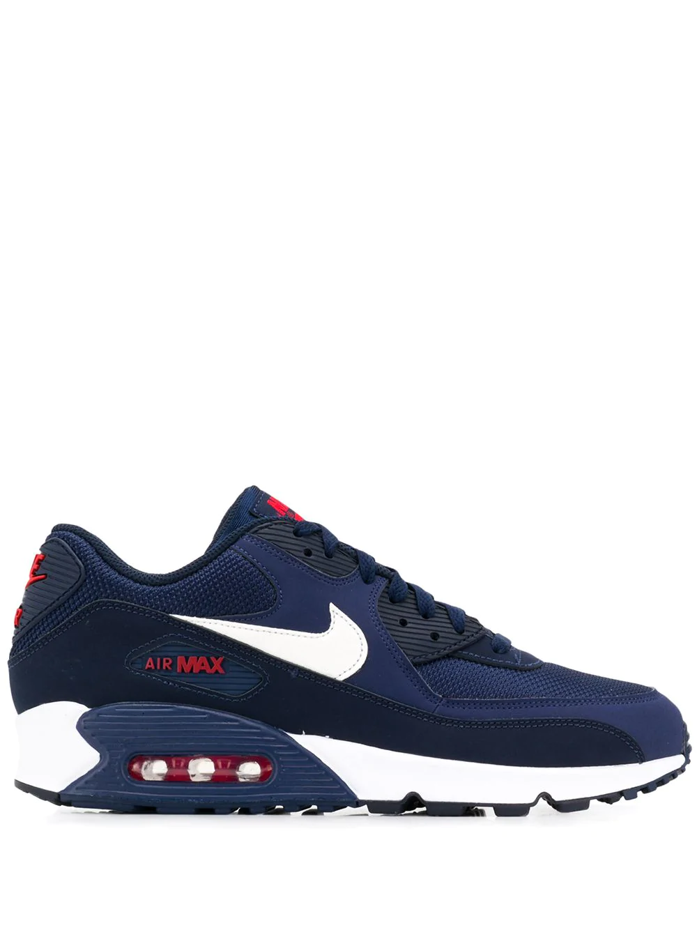 Nike Air Max Sneakers In Blau Leinen | ModeSens