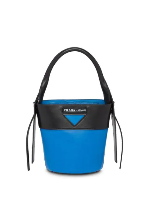 Prada Ouverture Bucket Bag - Blue