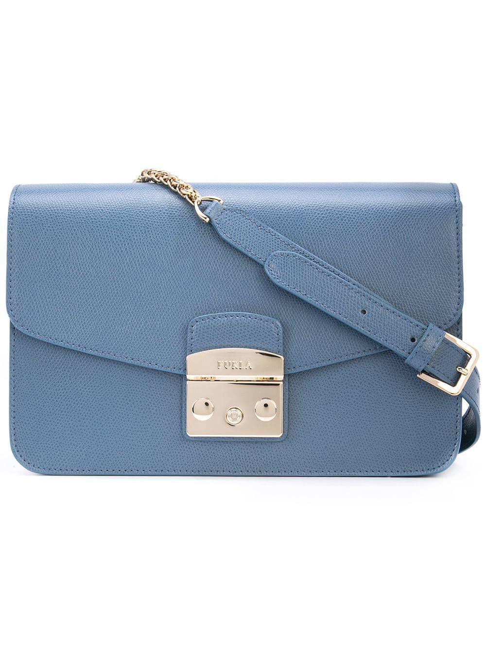 c8c9113c82dd Furla Metropolis Shoulder Bag - Blue