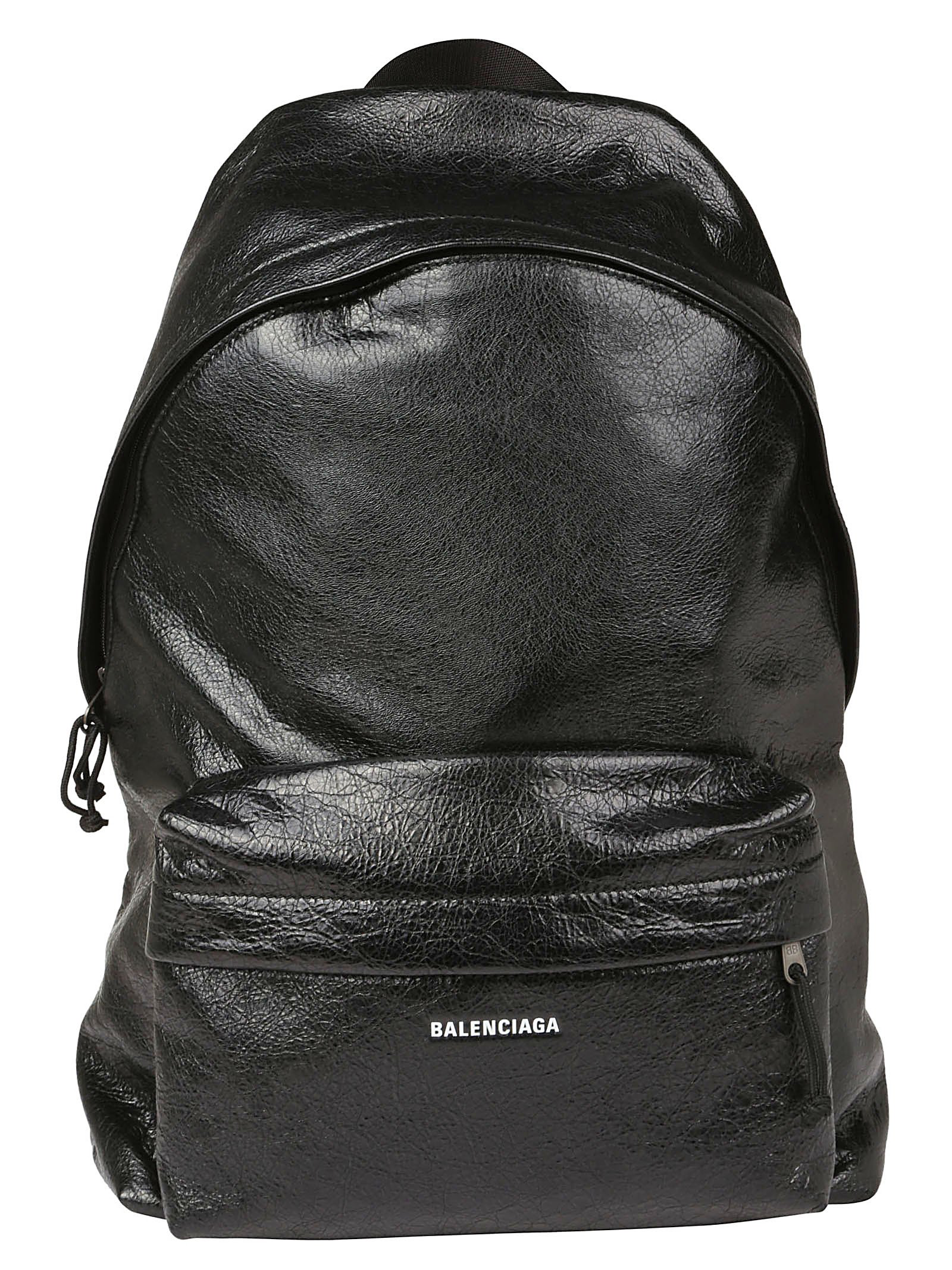 0f6272d60bb Balenciaga Arena Leather Zipped Backpack In Black | ModeSens