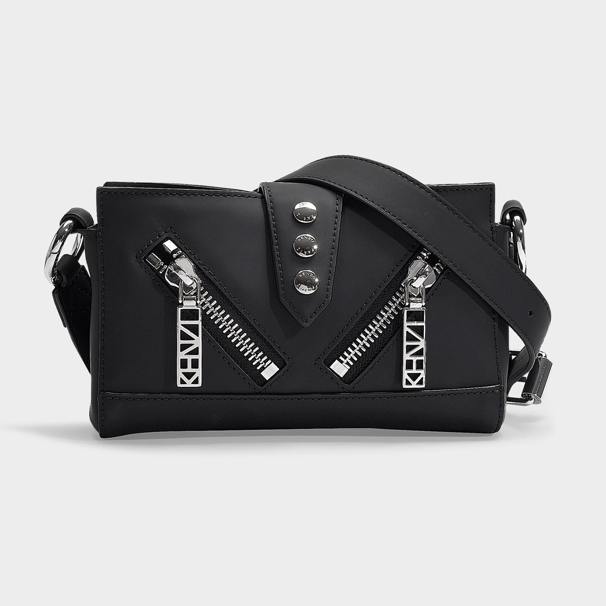 6bc768160 Kenzo | Kalifornia Bum Bag In Black Calfskin | ModeSens