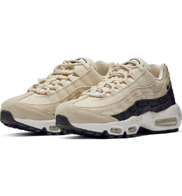 98f4b025e1 Nike Air Max 95 Se Running Shoe In White Irridescent | ModeSens