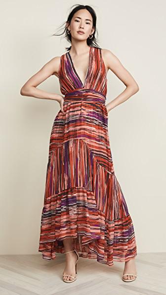 Misa Dominika Dress In Red