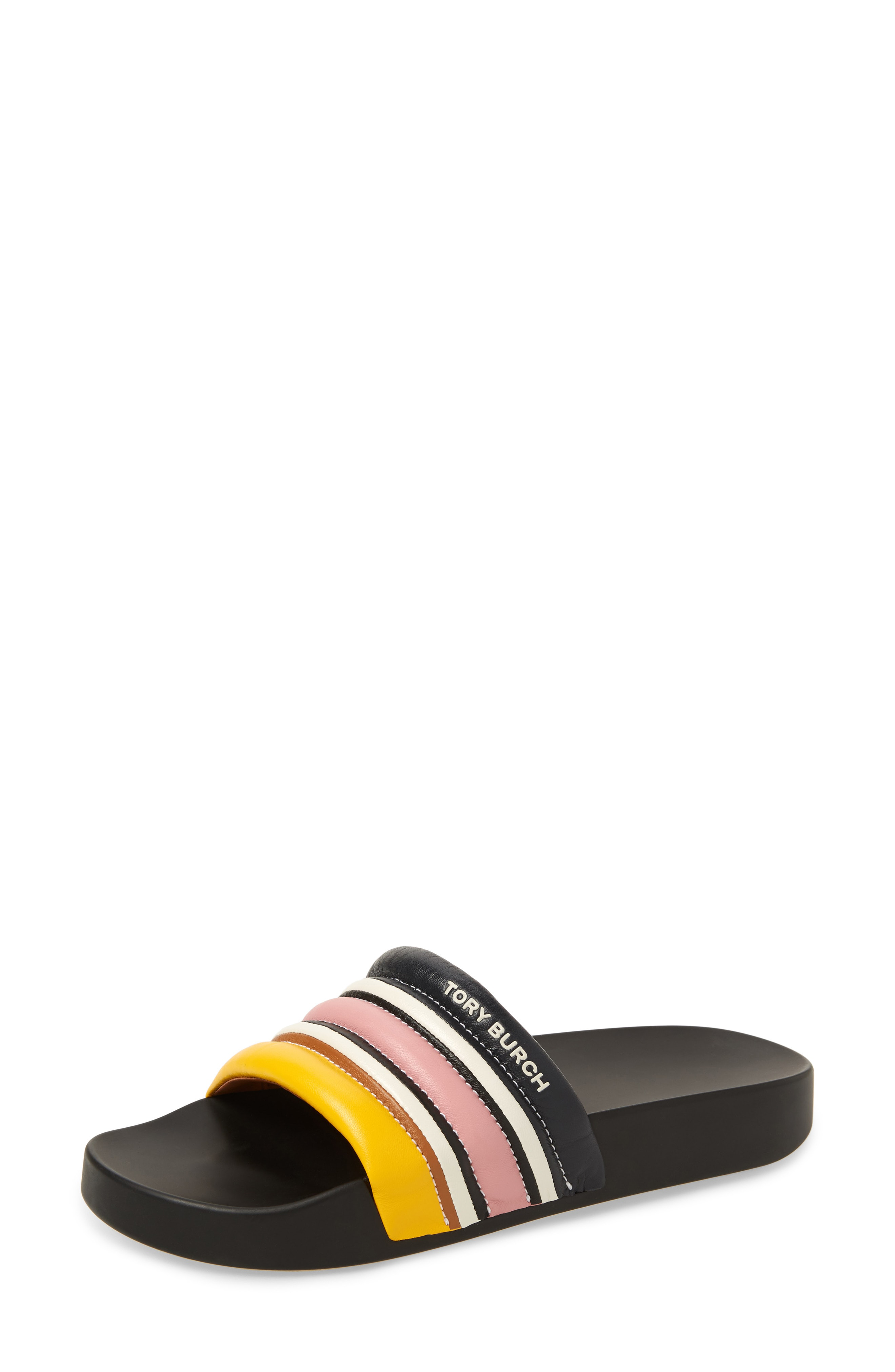 24417ae9074f Style Name  Tory Burch Colorblock Stripe Slide Sandal (Women). Style  Number  5798389. Available in stores.