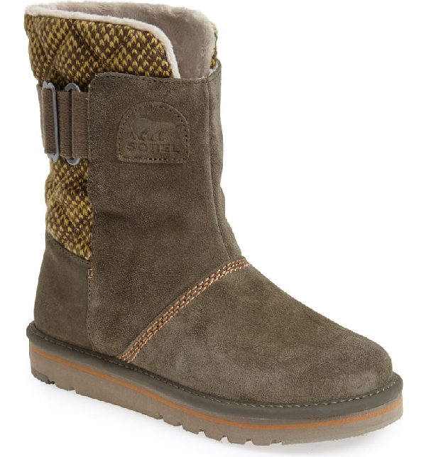 buy cheap differently new styles Sorel 'campus' Water Resistant Boot In Peatmoss | ModeSens