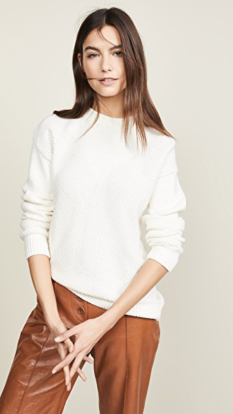 Sablyn Harper Sweater In White