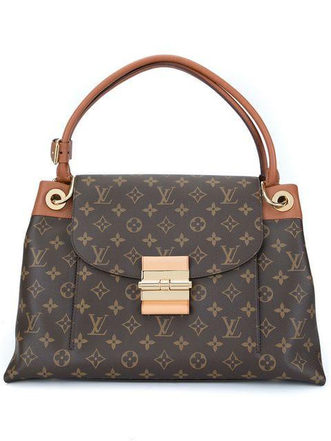Louis Vuitton Olump Shoulder Bag In Brown, Havane
