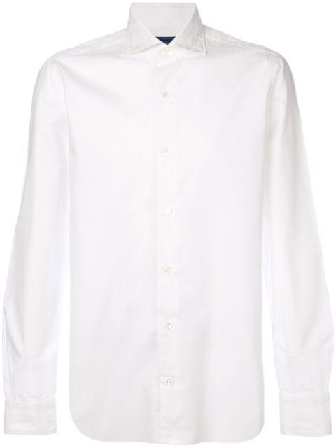 Barba Classic Shirt In White