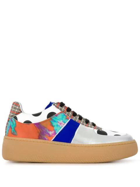 Block Margiela Sneakers Optik In Orange Maison Colour 6fgY7yIvb