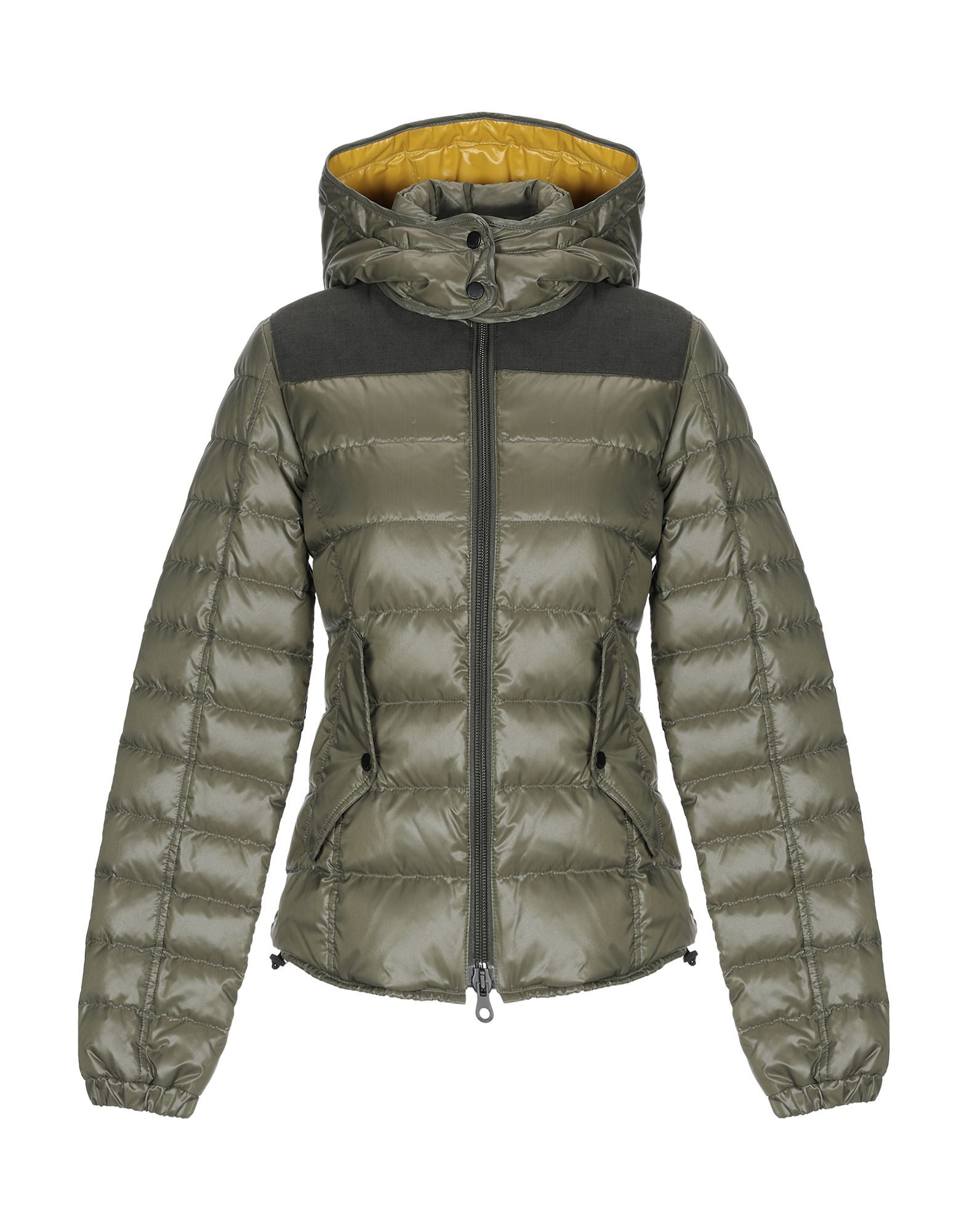 Duvetica Down Jacket In Dark Green
