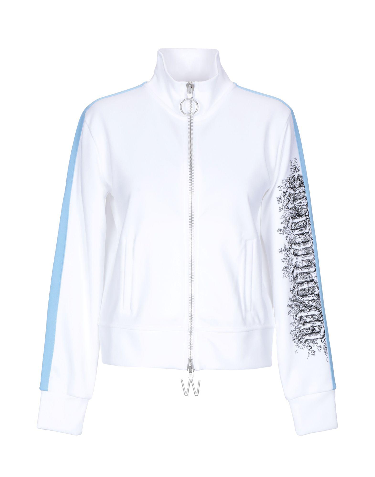 Off-white Sweatshirt In White