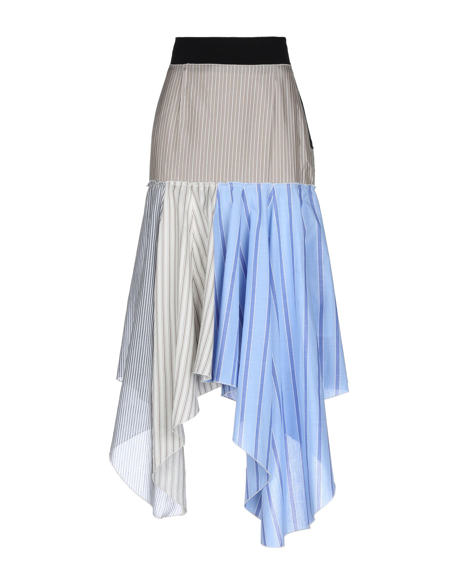 Jw Anderson Maxi Skirts In Beige