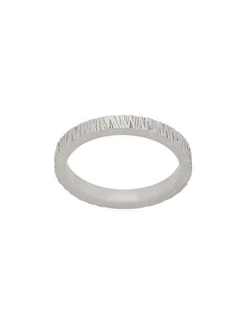 Tom Wood Structure Ring In Silver