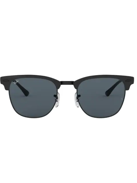 Ray Ban Clubmaster Metal Sunglasses In Black