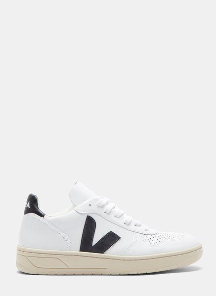 Veja V10 Leather Sneakers White