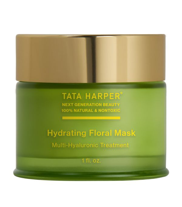 Tata Harper Hydrating Floral Mask 1 oz/ 30 ml In White