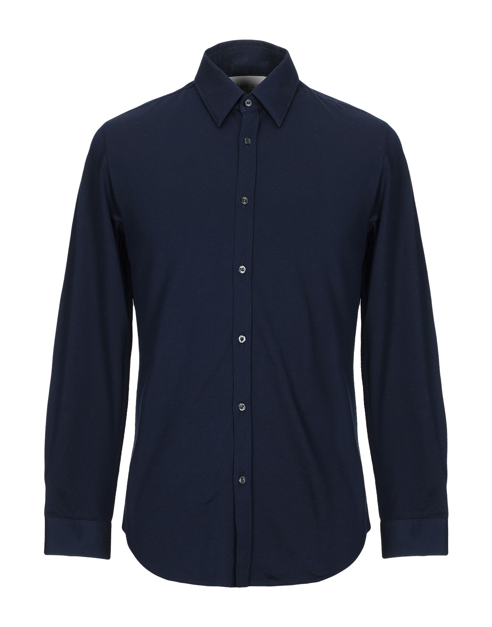 76e404b05c0c Gucci Shirts In Dark Blue | ModeSens