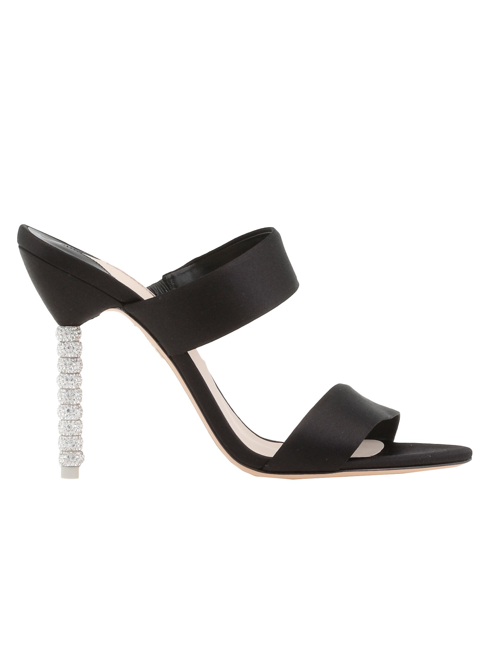 Sophia Webster Rosalind Crystal Sandal In Black