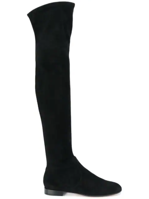 Gianvito Rossi Thigh-High Boots In Black