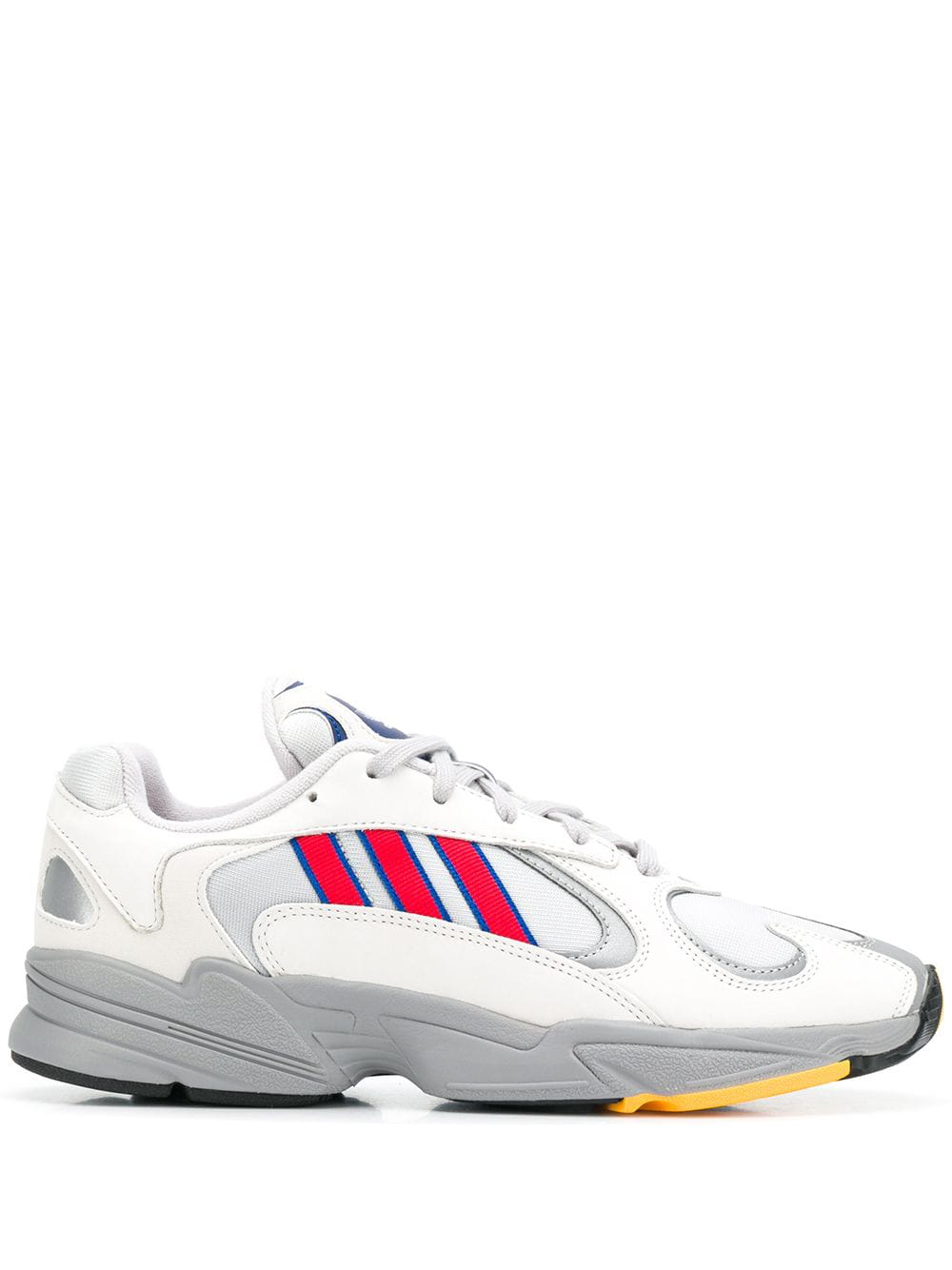 new product 95744 229a8 Adidas Originals Adidas Off-White Yung 1 Mesh Insert Low-Top