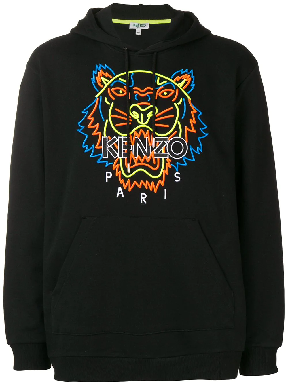 9045f38fb Kenzo Embroidered Hooded Sweatshirt - Black | ModeSens