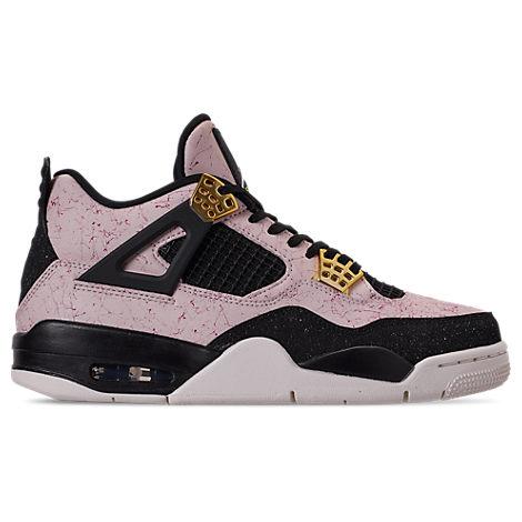6465ac266ba5c0 Nike Women s Air Jordan Retro 4 Basketball Shoes