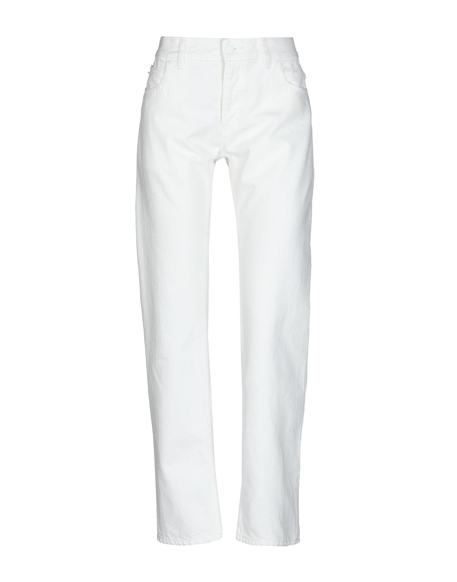 Tsumori Chisato Denim Pants In White