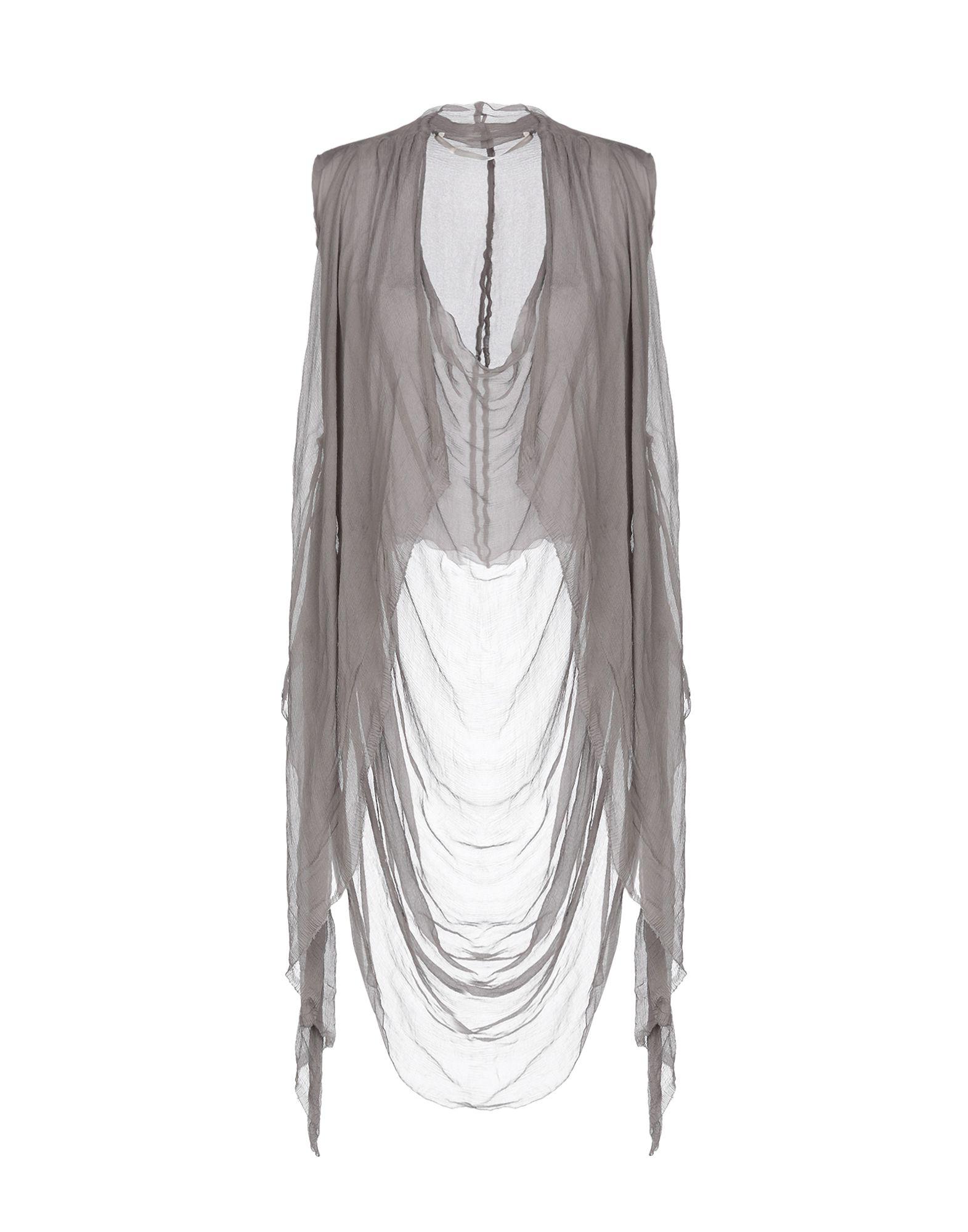 Marc Le Bihan Silk Top In Khaki