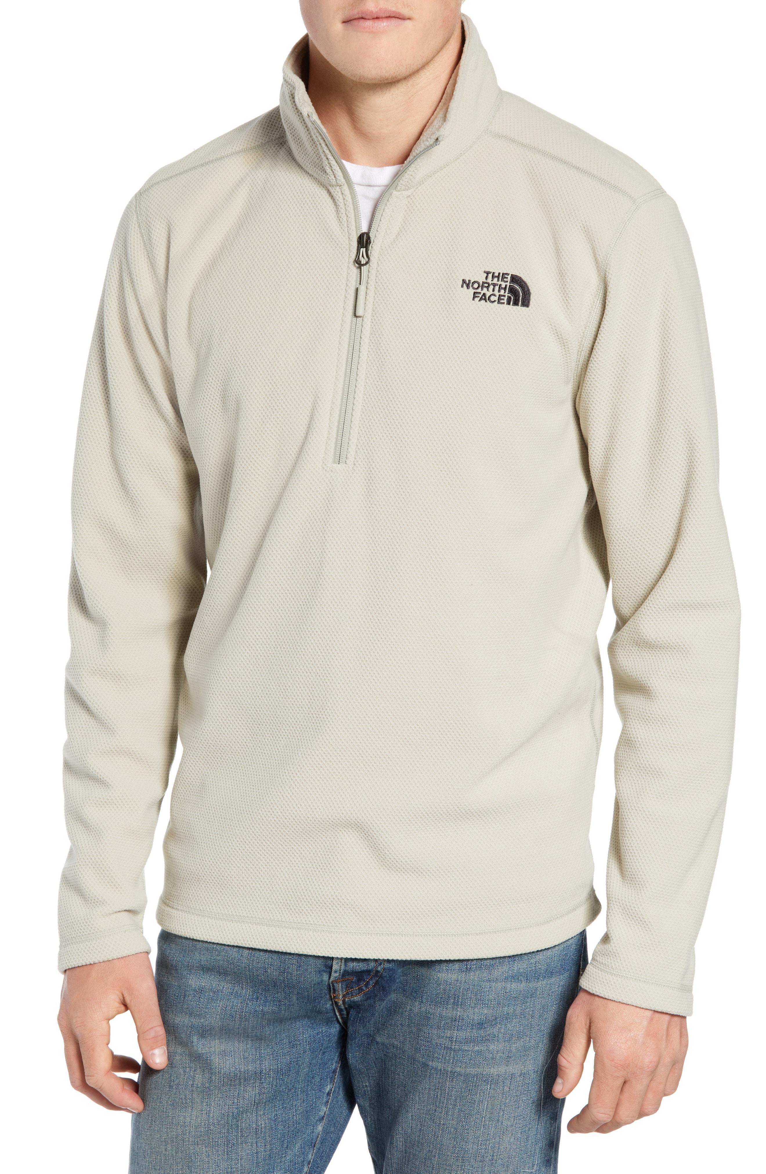 7d67412a5 Texture Cap Rock Quarter Zip Fleece Jacket in Granite Bluff Tan