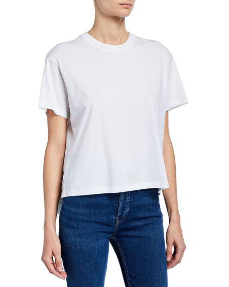 Atm Anthony Thomas Melillo Schoolboy Slub Cotton-Jersey T-Shirt In Black
