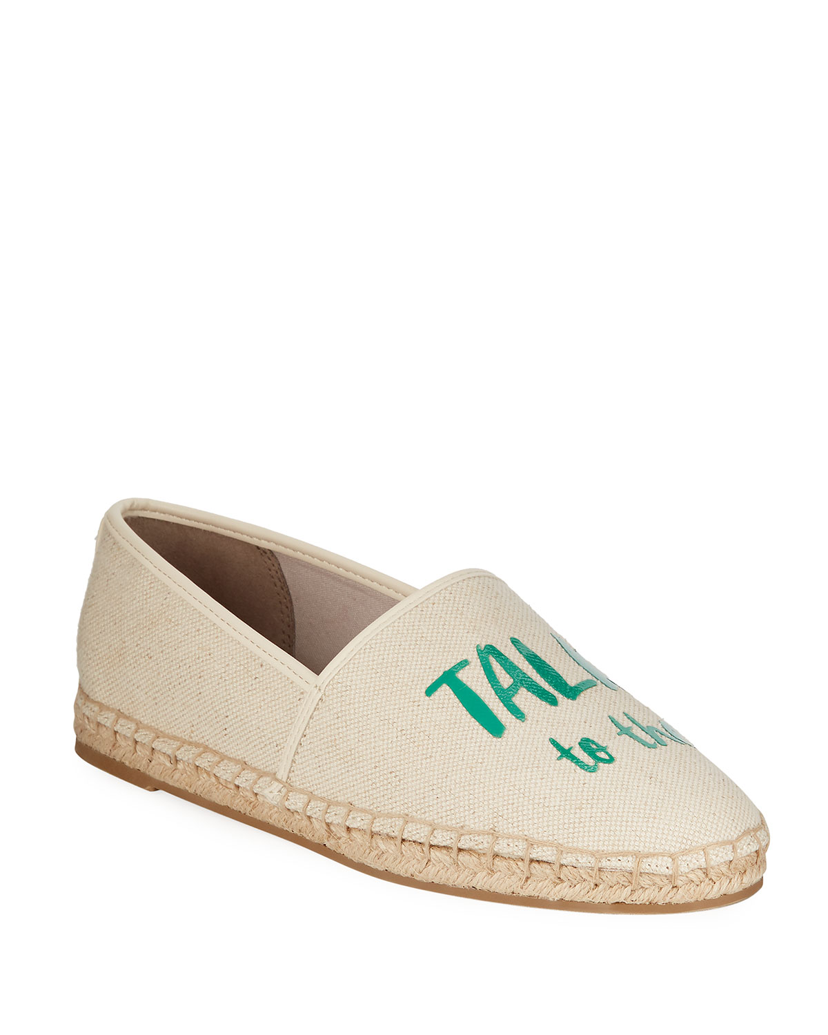 a41285a95 Circus By Sam Edelman Leni Slip-On Palm Tree Canvas Espadrilles In ...