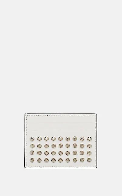 Christian Louboutin Kios Leather Card Case - White
