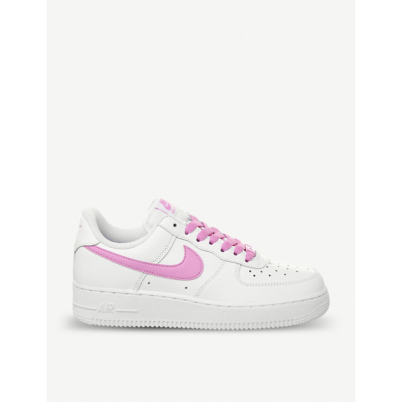 nike air force 07 white psychic pink