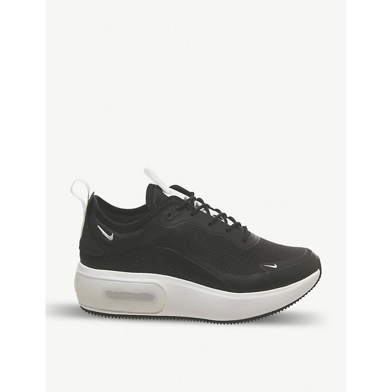 hot sale online 2ff16 a67e0 Nike Air Max Dia Textile Trainers In Black Summit White F
