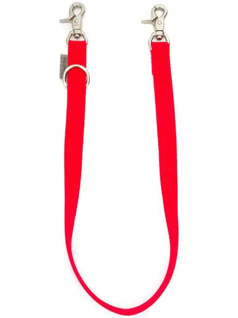 Yohji Yamamoto Trouser Clasp Keyring In Red