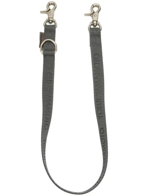 Yohji Yamamoto Trouser Clasp Keyring In Grey