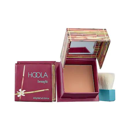 Benefit Cosmetics Hoola Matte Bronzer Mini Mini Hoola 0.14 oz/ 3.96 G In Hoola - Medium