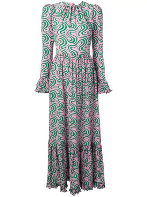 La Doublej Visconti Dress In Pink
