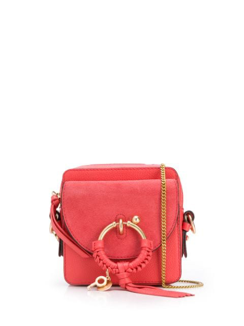 See By ChloÉ See By Chloe Pink Mini Joan Camera Bag In 6al Pink