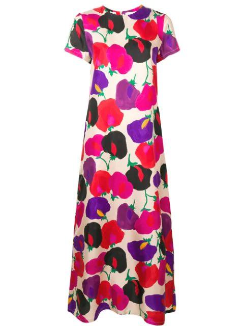 La Doublej Swing Dress In Pink