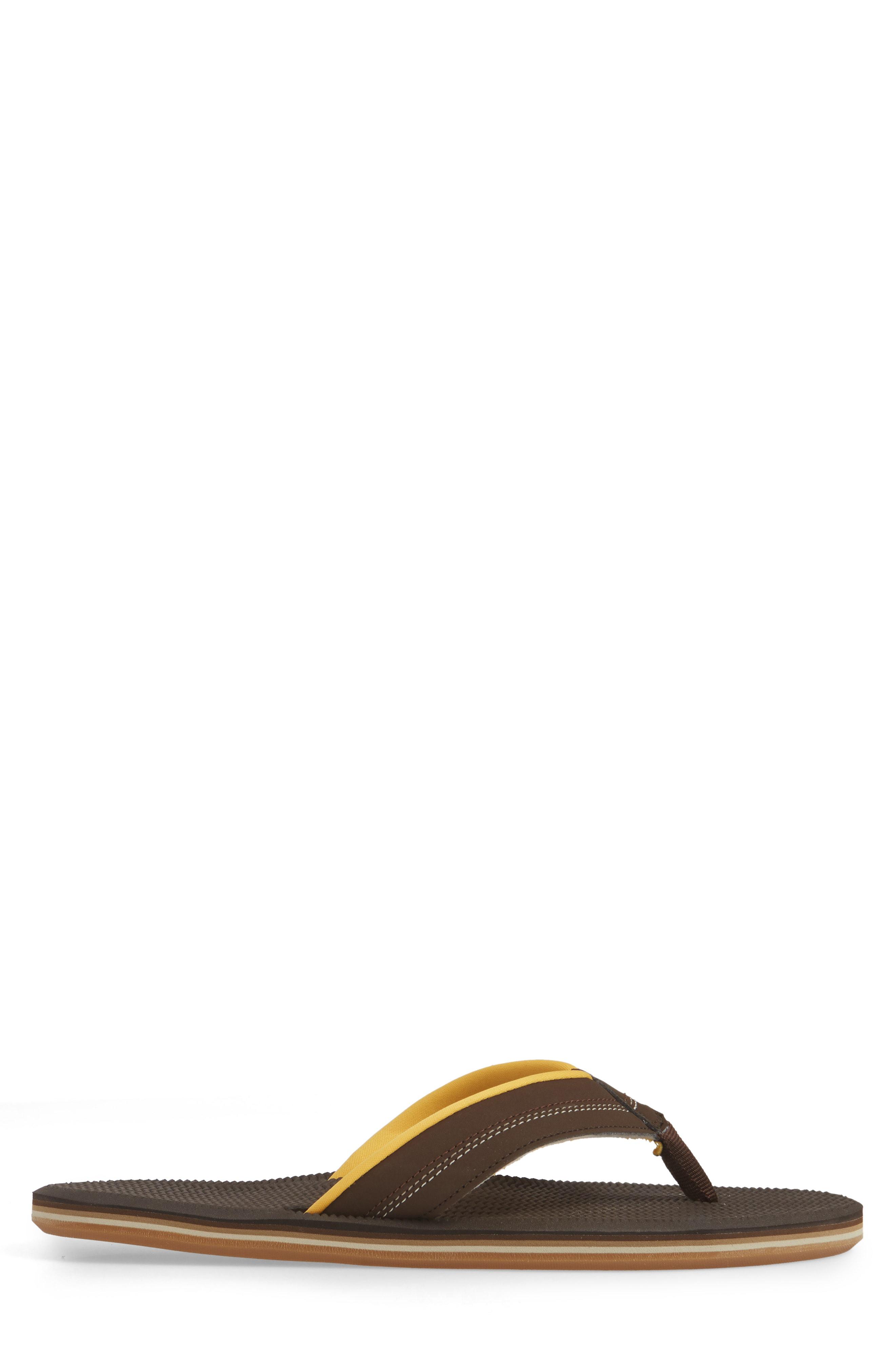 5a4c6028c540 Hari Mari Brazos Flip Flop In Brown  Gold