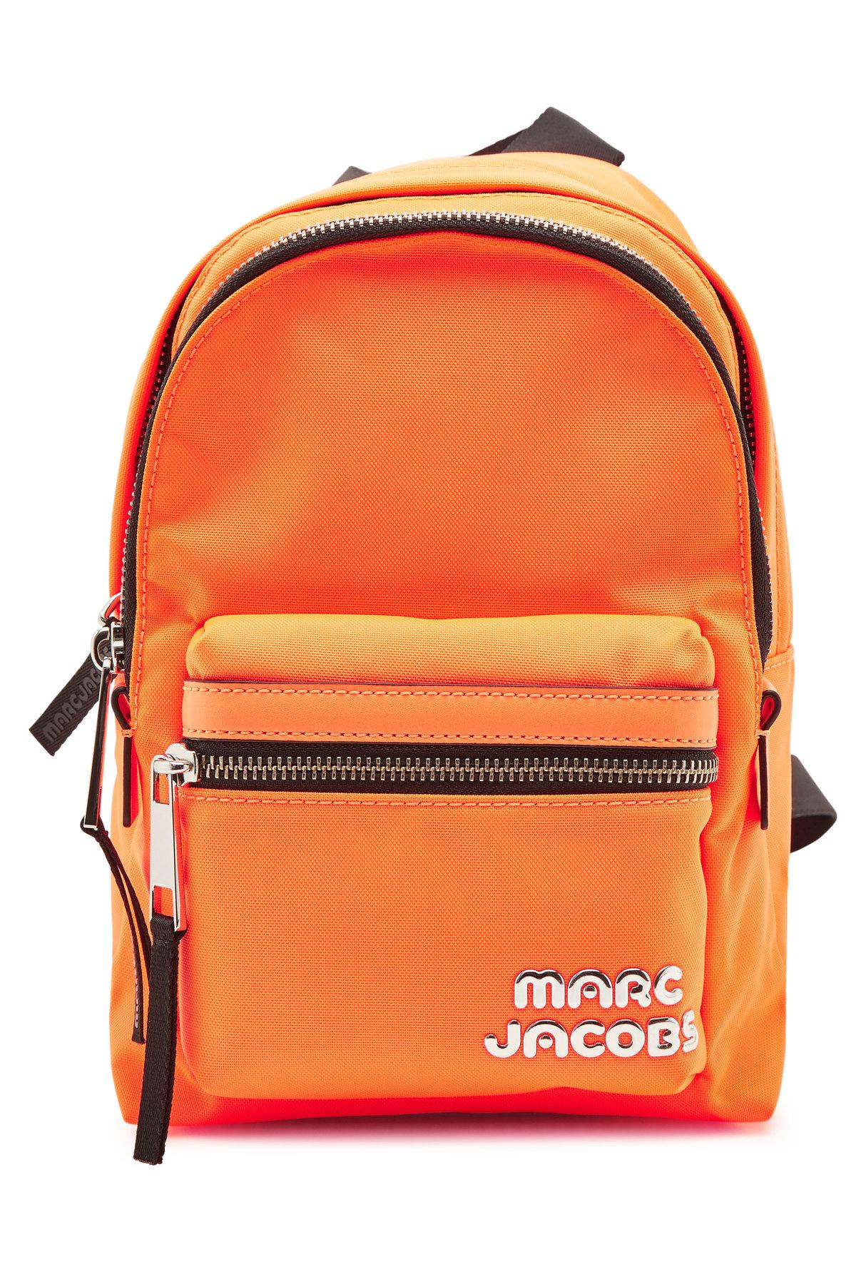 Marc Jacobs Mini Backpack In Orange