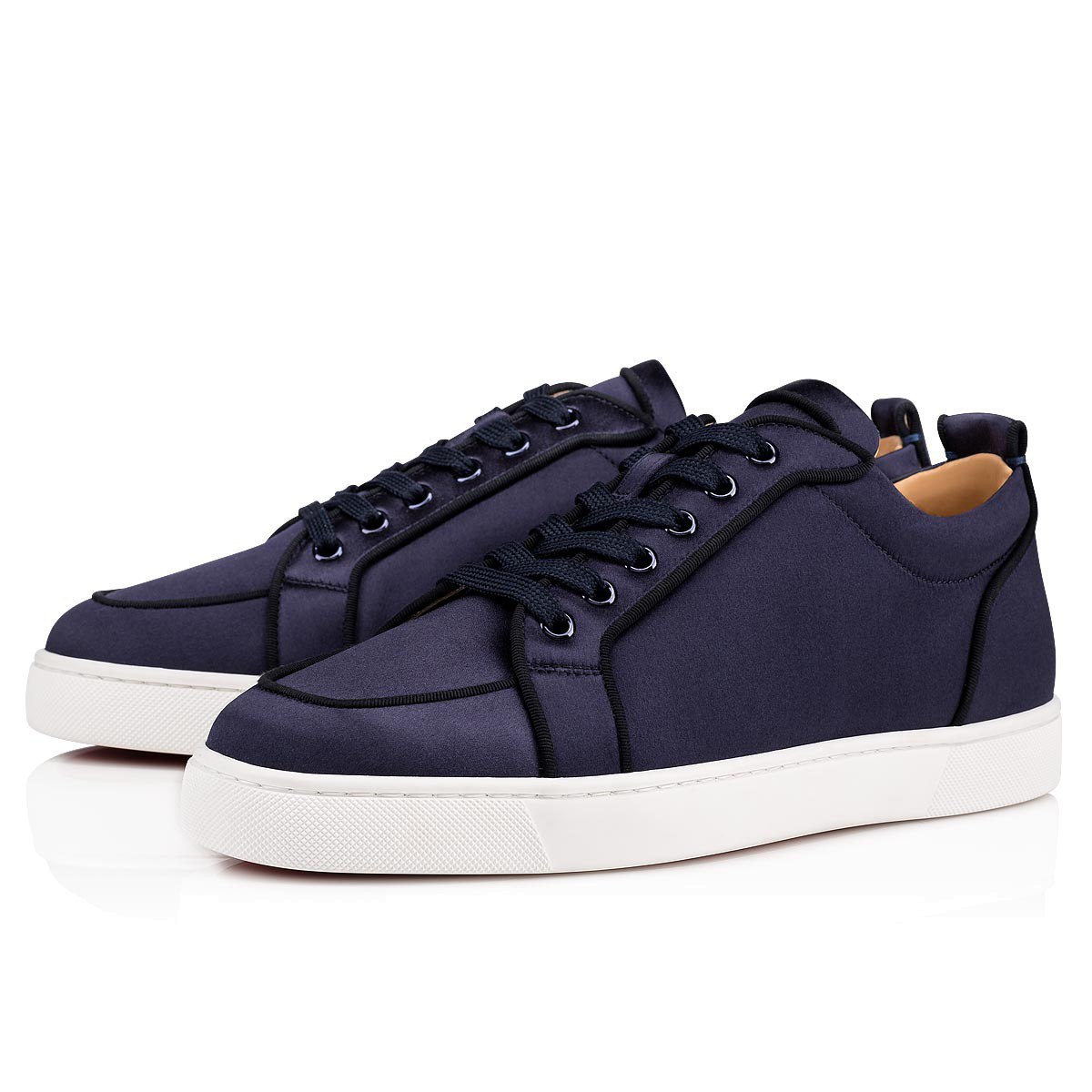 discount crazy price sale online Christian Louboutin Rantulow Orlato Men's Flat In Marine | ModeSens