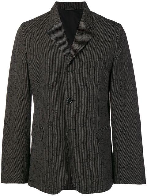 Ann Demeulemeester Corduroy Blazer In Black