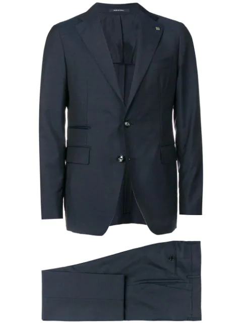 Tagliatore Two-piece Suit In Blue