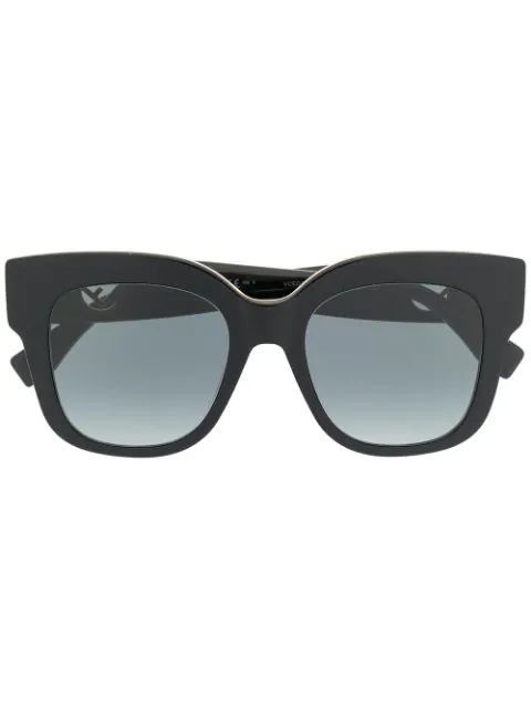 Fendi F Is  Sunglasses In Black