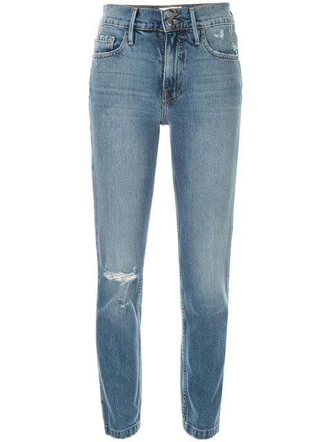 Frame Heritage Sylvie Skinny Jeans In Blue